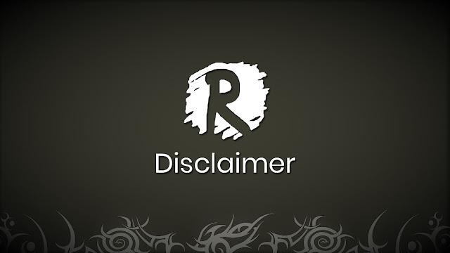 Disclaimer - Reza Nauma
