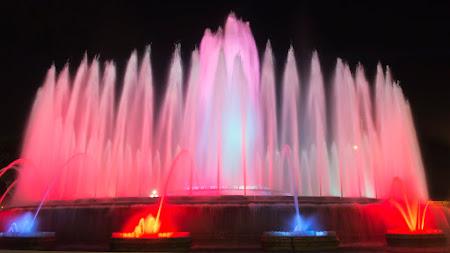Fountains in Barcelona desktop