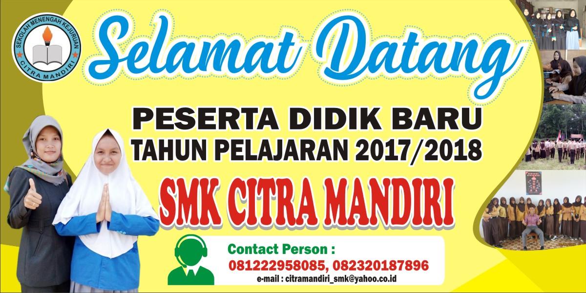 Download Spanduk Selamat Datang Siswa Baru.cdr - KARYAKU