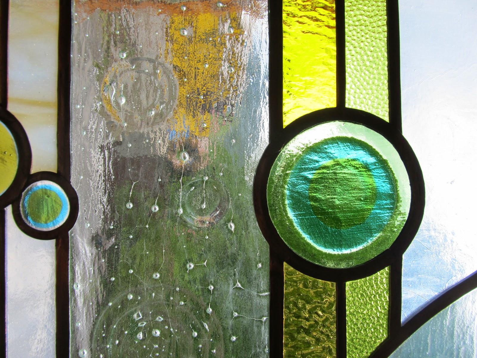 závěsná vitráž - detail