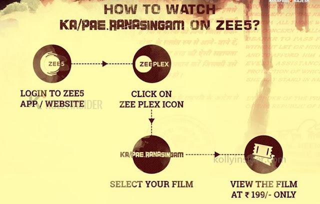 watch Vijay Sethupathi's 'Ka Pae Ranasingam'