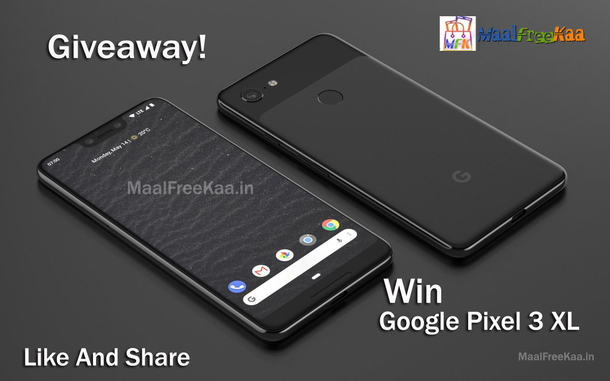 Giveaway Win - Google Pixel 3 XL - Freebie Giveaway Contest
