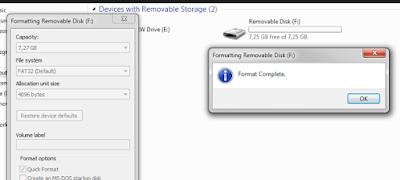 cara memperbaiki penyimpanan internal storage hp tidak terbaca