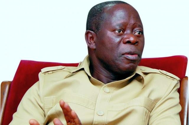 Oshiomhole: Nigeria Going Through Tough Time, But...