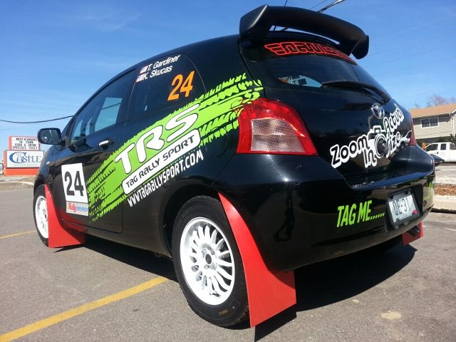 Tag Rally Sport Toyota Yaris rally car