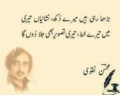 Mohsin Naqvi Poet