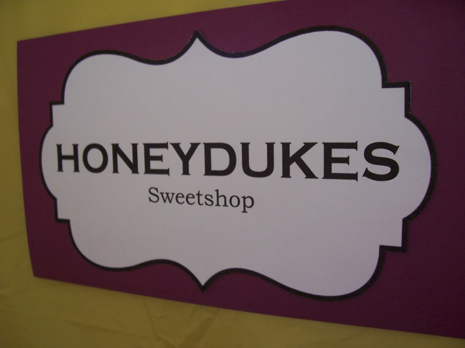 image regarding Honeydukes Sign Printable identify Red Sage Creations: Harry Potter Dessert Desk with absolutely free
