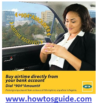 Buy Airtime Directly from your Bank Account