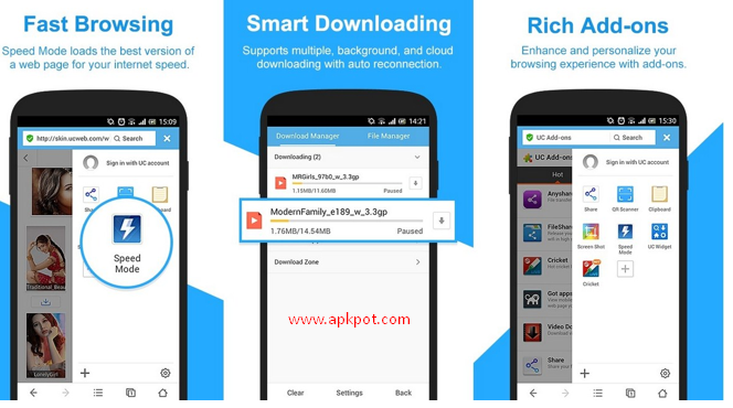 Free uc browser version 7. 6 download for android download uc browser.
