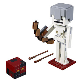 Minecraft Skeleton With Magma Cube Lego Set