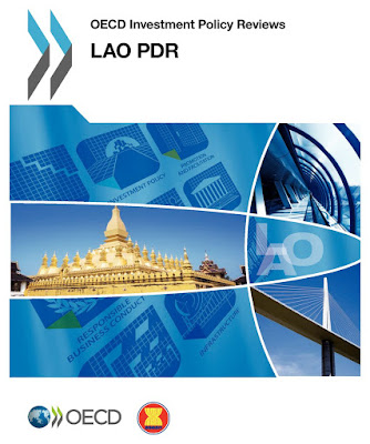 Book cover - OECD Investment Policy Reviews:  Lao PDR