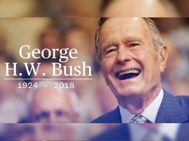 Former President George H.W. Bush Dies A Life of Commitment to US