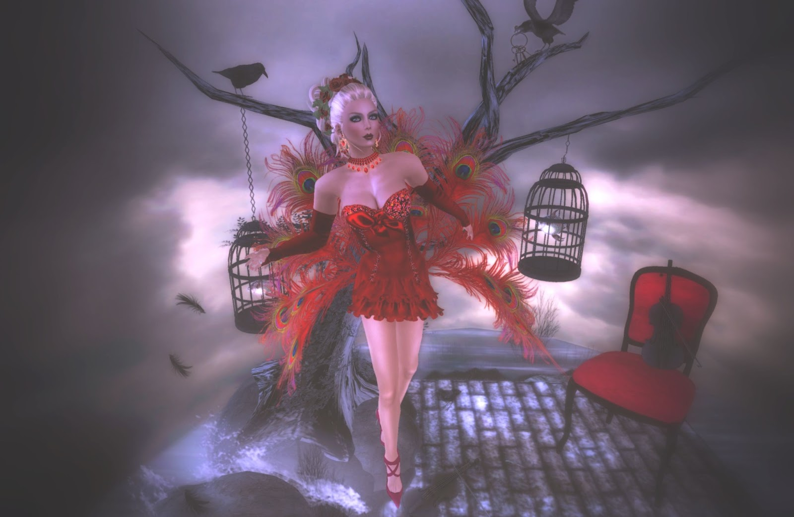 New From Sona Valentines Day Fantasy Dress Poses From PosESion. 1600 x 1041.Valentine's Day Photos For Son