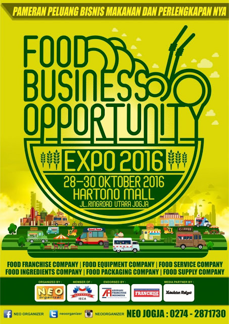 Food Business Opportunity Expo 2016 Yogyakarta