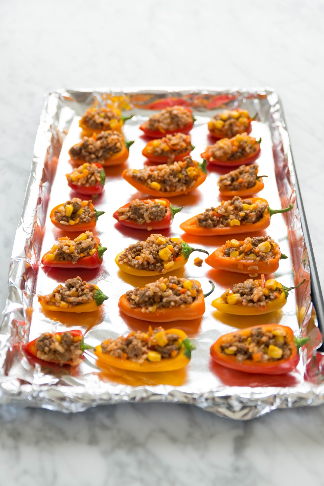 mini stuffed pepper recipe, healthy, turkey sausage, veggies, healthy, meal ideas, dinner, best, quick, easy, lunch, weekday, weeknight dinner idea, wholesome, meals kids love, colorful