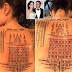 MPNAIJA GIST:Angelina Jolie got painful 'protection' symbolic tattoos by a Thai monk to bind her with Brad Pitt months before separation