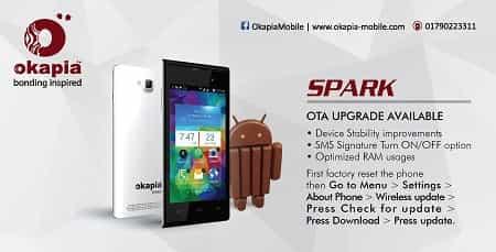 Okapia Spark Smartphone