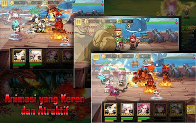 download mod money manga clash warrior arena