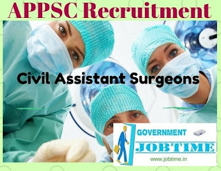 APPSC Civil Assistant Surgeon