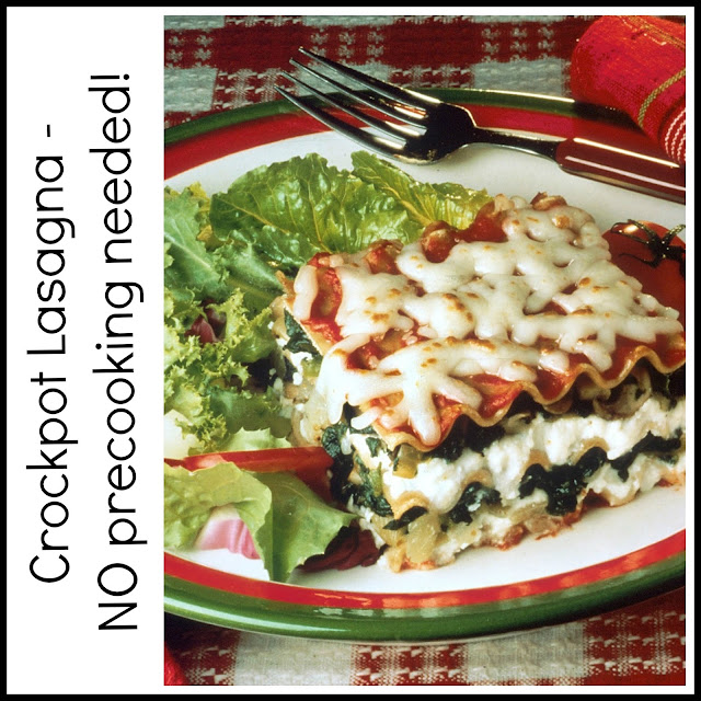 BentoLunch.net - Crockpot Lasagna, no precooking required