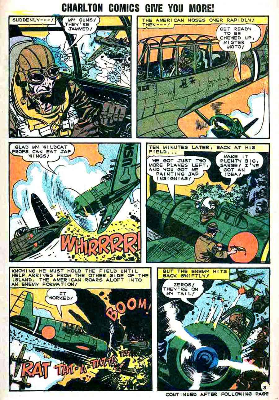 D-Day v1 #2 - Wally Wood charlton war silver age 1960s comic book page art
