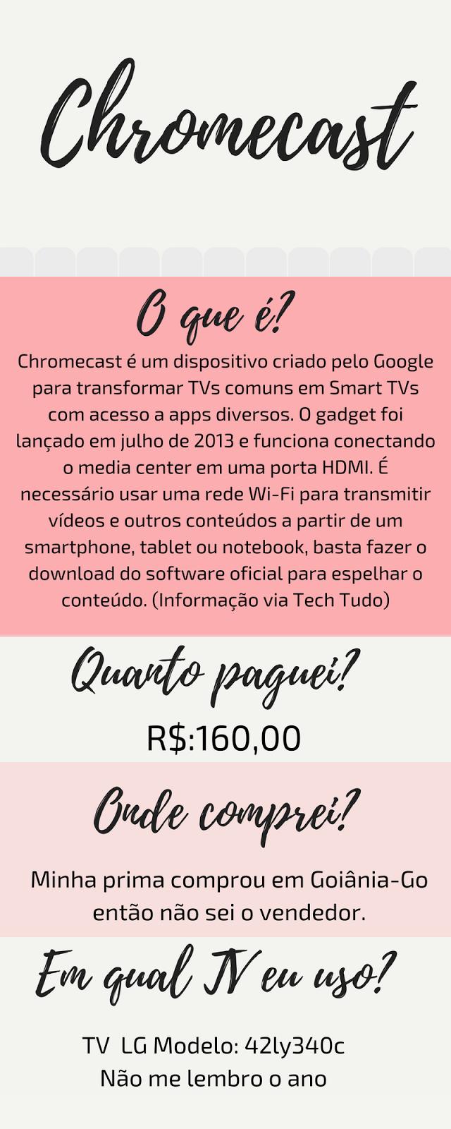 vale a pena comprar chromecast