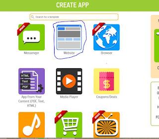 cara membuat aplikasi android untuk blog/web