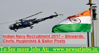 Indian-Navy-Stewards-Posts-Recruitment-2017