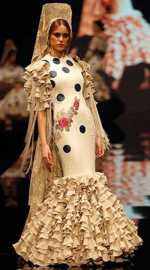 traje de flamenca 2016 Ernesto Sillero