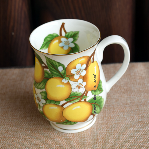 Ceramic Decor Fruits Cup