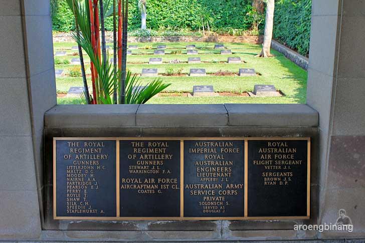 makam perang jakarta menteng pulo