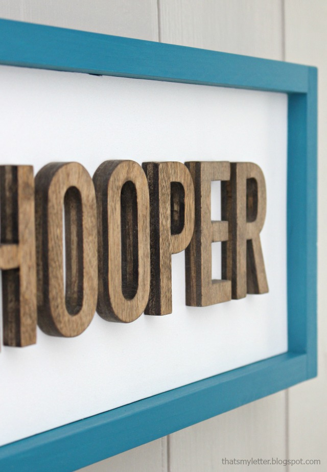 plywood cut out letters