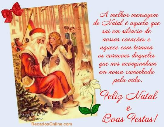 Mensagens De Natal: Mensagens De Natal Noite Feliz