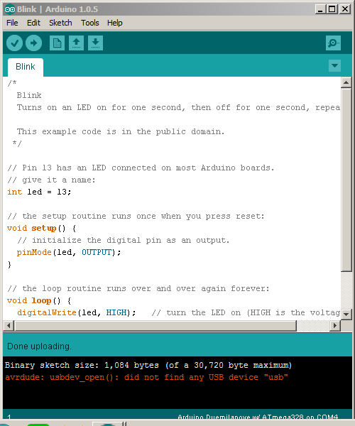 BaseLink Labs: Burning  hex files with AVR dude