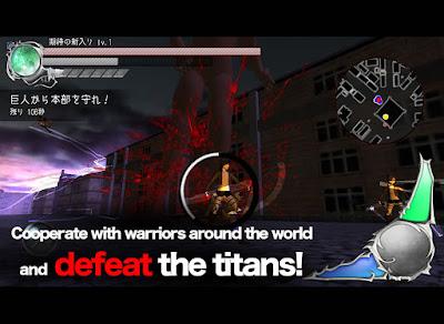 Battlefield Attack On Titan V2.1.5 Apk + Data