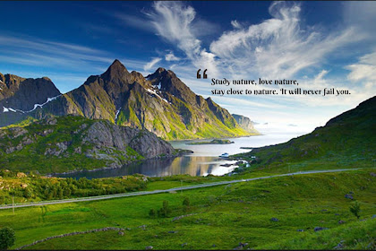 Paling Baru Kata Kata Bijak Tentang Keindahan Alam Dalam Bahasa Inggris