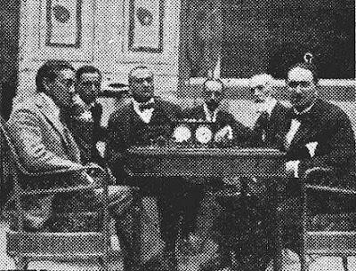Encuentro de ajedrez Clarence Seaman Howell - Manuel Golmayo