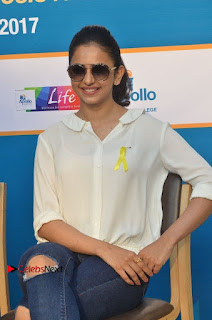 Actress Rakul Preet Singh at Endometriosis Awareness Walk at Apollo Cradle  0083.jpg