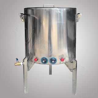 Nồi nấu phở inox dùng điện 60 lít AN-60L