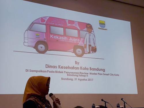 Mobil kekasih Juara Bandung