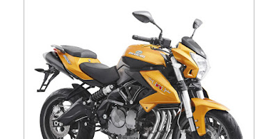 Benelli TNT 600i ABS right angle image