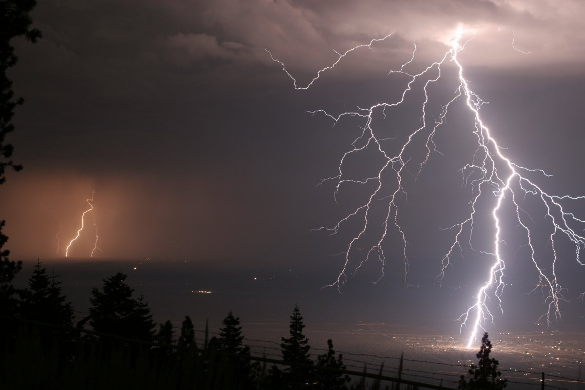 Images of lightning