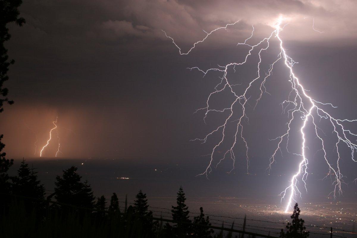 Images of lightning