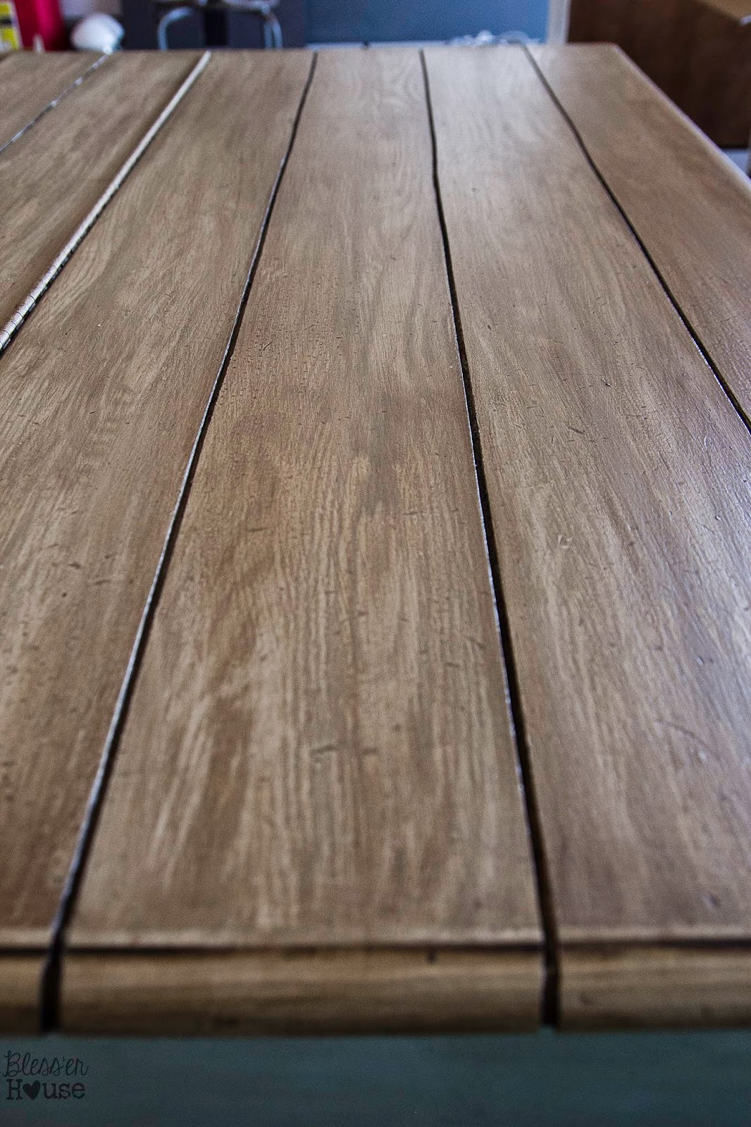 Fake Wood Countertops Faux Reclaimed Wood Table Top How To Bless 39er House