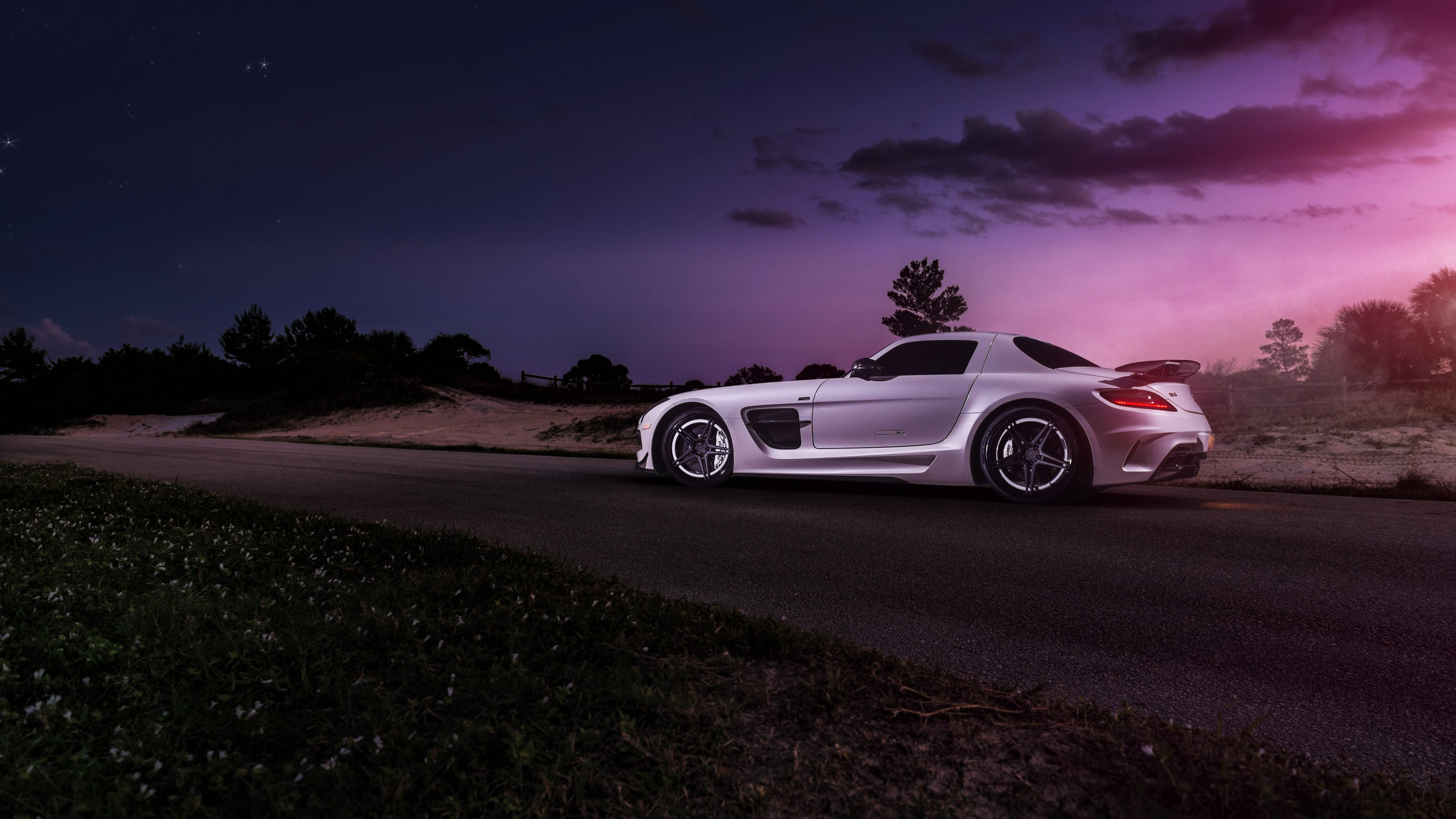 mercedes sls hd wallpapers 4k