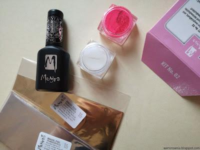 Moyra stamping set 2