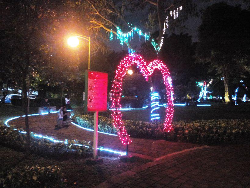 Buat Jakarta Kian Benderang Pln Disjaya Pasang Lampu Hias Di Taman Mataram Og Indonesia