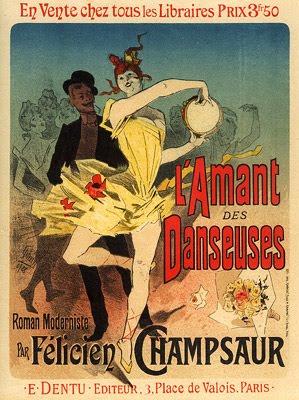 L'Amant des Danseuses Roman Moderniste par Félicien Champsaur