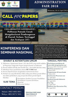 Call for Conference National 2018 di UNHAS