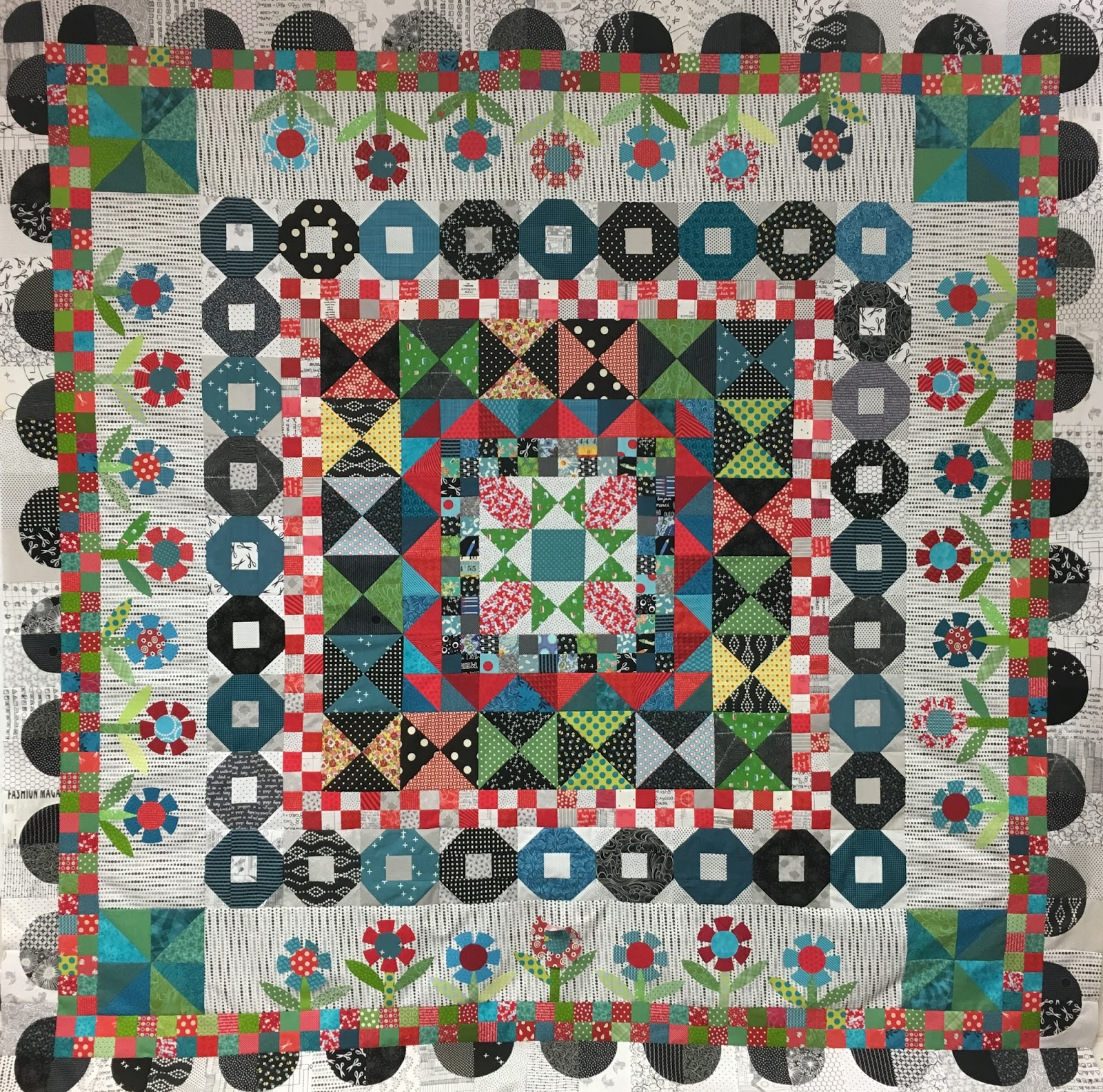 designs of glory in new the final starry pattern month block medallion morning quilt